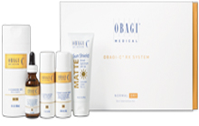 Complete skin care regimen for early signs of skin aging and sun damage.
